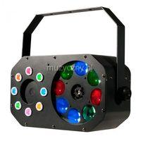 American DJ Stinger Gobo efekt świetlny LED DMX 3 w 1 - gobo efekt, laser, colorstrobo 6 x 3W RGBWAV