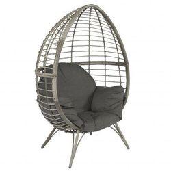 Pure garden & living Fotel technoratan kosz ogrodowy szary brąz dobrebaseny