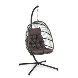 Blumfeldt Biarritz Individuelle, fotel wiszący, poduszka na siedzisko, 130 kg, ciemnoszary (4060656229336)