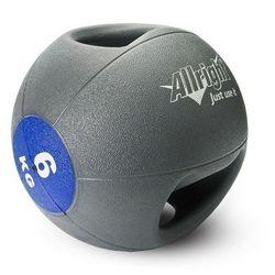 Piłka lekarska z uchwytami 6kg Allright - sprawdź w Fitness.Shop.pl