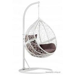 Fotel wiszący kokon ogrodowy lux xxl GOODHOME (5903089065081)