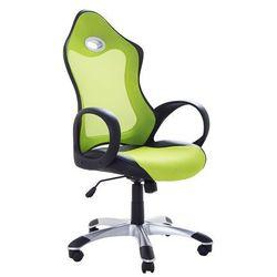 Krzesło biurowe zielone - obrotowe - fotel komputerowy - iCHAIR (4260580934423)