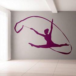 gimnastyczka 1161 szablon malarski