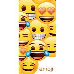 ręcznik kąpielowy emoji, 70 x 140 cm od producenta Jerry fabrics