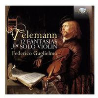 Telemann: 12 Fantasias For Violin Solo - Dostawa 0 zł
