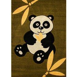Dywan zoo panda zielony 120x170 prostokąt marki Dywanstyl.pl