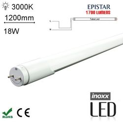 INOXX 120T8K3000 MI FS 1S Świetlówka LED ciepła 1200mm G13 jednostronnie zasilana o mocy 18W 1700 lumenów 3000K od Avde.pl