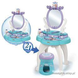 toaletka frozen 2 w 1 bezpieczne lustro księżniczki taborecik marki Smoby