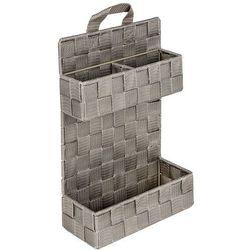 Organizer łazienkowy adria mini taupe, 2 poziomy, marki Wenko