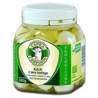 kulki z sera koz(czos.-zioł) w oleju bio 380g-capr - produkt z kategorii- Nabiał