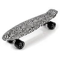 Deskorolka Fiszka Pennyboard METEOR Zebra - Multicolor ||Czarny
