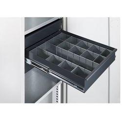 Zestaw przegród do szuflad, do szafy na materiały, 14-częściowy. przegrody blasz marki Mba-system