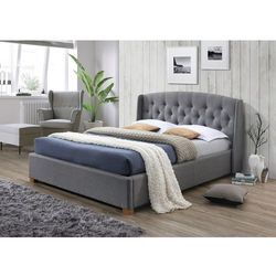 Łóżko hampton 160x200 kolor szary/dąb tap. 23 marki Signal meble