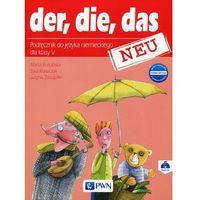 Der die das neu 5 Nowa edycja Podręcznik z płytą CD, oprawa miękka