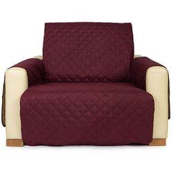 4home narzuta na fotel doubleface bordo/beżowa, 60 x 220 cm, 60 x 220 cm (8596175012938)