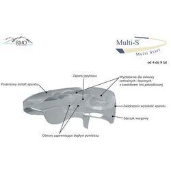 Rmo europe Aparat rmo multi-s - elastyczny aparat ortodontyczny - ortho aparat przeznaczony dla dzieci z uzęb