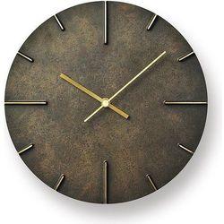 Zegar ścienny Quaint ciemnorbązowy, AZ15-06 BK