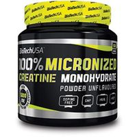 Biotech  usa 100% creatine monohydrate 500g (5999076204281)