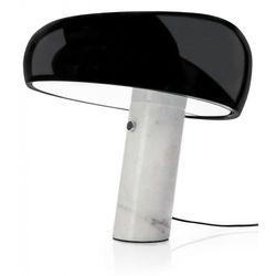 Lampa biurkowa PEAK MARBLE - marmur, metal, szkło (5900000051086)