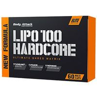Body Attack Lipo 100 Hardcore 60 Kaps (4250350527634)