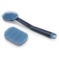 Joseph Joseph - Szczotka do naczyń +myjka CleanTech, niebieska - niebieski (5028420002195)