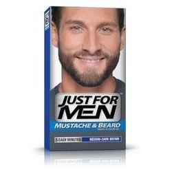 Just For Men M-40 ŚREDNI-CIEMNY BRĄZ Odsiwiacz, Żel broda,wąsy,baki 2x14,2g z kategorii Stylizacja włosó