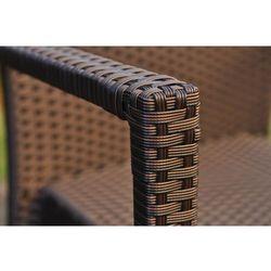 Krzesło ogrodowe VERONA kolor brązowyUwaga: produkt na wyczerpaniu, produkt marki Bemondi