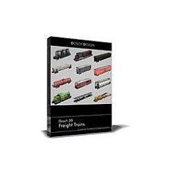 Dosch 3D: Freight Trains z kategorii Programy graficzne i CAD