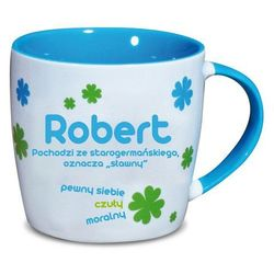 Nekupto, Robert, kubek ceramiczny imienny, 330 ml