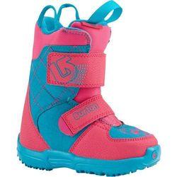 BURTON - Mini - Grom Pink/Teal (656) rozmiar: 10C - produkt z kategorii- Buty do snowboardu