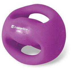 Piłka lekarska z uchwytami Grab Me 3 kg Insportline - 3 kg