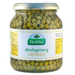 Eko wital Groszek zielony w zalewie bio 350g/230g -