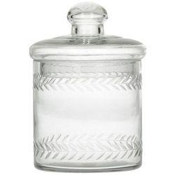 Dekoria Pojemnik szklany z pokrywką wys. 14cm -30%, 14 cm