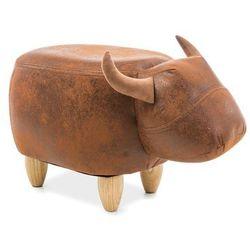 Pufa zwierzak - - krówka karolina - brązowy marki Signal