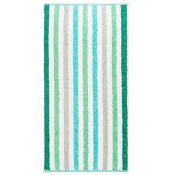 Cawö frottier Cawo frottier ręcznik kąpielowy stripe tyrkys