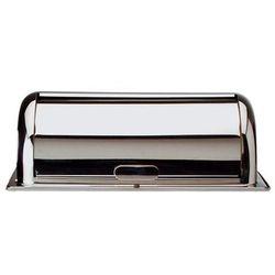 Pokrywa nierdzewna Roll-Top SWISS, do podgrzewaczy, wym. 55x34 cm, wys. 19,5 cm, APS 12310, kup u jednego z pa