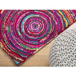 Beliani Dywan kolorowy 140x200 cm - bawełna - poliester - kozan