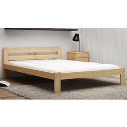 Łóżko ekologiczne drewniane emilia 160x200 nielakierowane marki Meble magnat