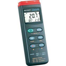 Termometr przemysłowy Voltcraft K202, 2 kanałowy z rejestratorem danych