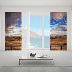 Zasłona okienna na wymiar komplet - LAND OF THE SUN