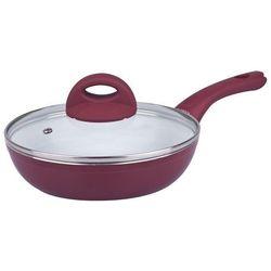 GERLACH 309 HARMONY Patelnia ceramiczna 20 cm z/p bordowa indukcja, kolor czerwony
