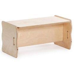 Wielofunkcyjna ławka - mebelki do pokoju dziecięcego