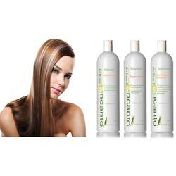 Encanto DO BRASIL zestaw do keratynowego prostowania włosów 3x473ml - oferta [05aa6520d5c57699]