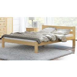 Łóżko drewniane Mato 140x200 EKO z materacem piankowym Megana