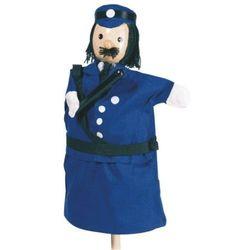 Pacynka na dłoń dla dzieci do teatrzyku - Policjant - produkt z kategorii- Pacynki i kukiełki
