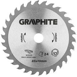 Tarcza do cięcia GRAPHITE 55H552 85 x 10 mm do minipilarki