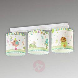 62623 -lampa sufitowa dziecięca circus 3xe27/60w/230v marki Dalber