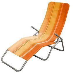 Happy Green leżak plażowy, pomarańczowy (8591022216347)