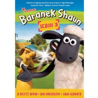 Baranek Shaun, sezon 3 (DVD) - N. Park, R.Goleszowski, Ch. Sadler