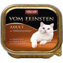 Animonda  vom feinsten classic cat smak: wołowina i serca z indyka 100g (4017721832038)